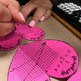 Valentine's Day Math Graphing Linear Equations 3D Ornament