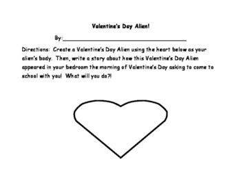 Valentine's Day Alien!