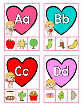 Valentine's Day Alphabet Activities