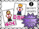 Valentine's Day - Alphabet Clip Cards (Lowercase and Uppercase Letters)