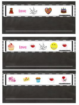 Valentine's Day Alphabet Code