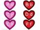Valentine's Day Alphabet Matching