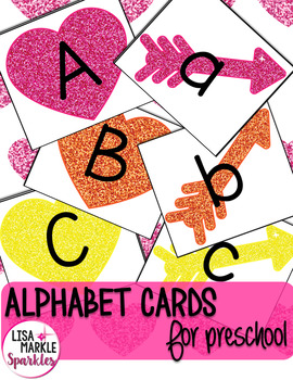 Valentine's Day Alphabet Matching Activity for Preschool Centers