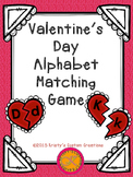 Valentine's Day Alphabet Matching Game