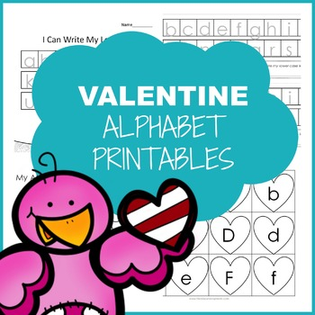 Valentine's Day Alphabet Printables
