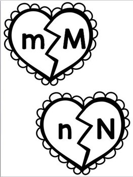 Valentine's Day Alphabet Puzzles