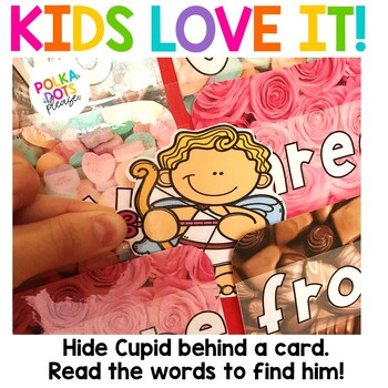 Valentine's Day Alphabet and Sight Word Game