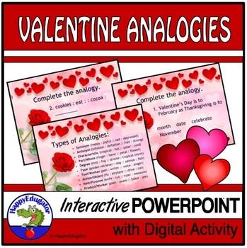 Valentine's Day Analogies PowerPoint