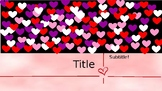 Valentine's Day Animated Powerpoint Template