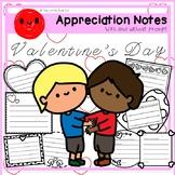 Appreciation Notes + FREE Clipart (Valentine's Day)
