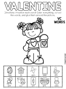 Valentine's Day Apraxia: Snip and Stick!