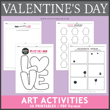 Valentine's Day Art Activities