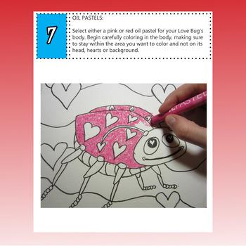 Valentine's Day Art Lesson, Love Bug