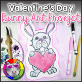 Valentine's Day Art Project, Bunny