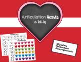 Valentine's Day Articulation