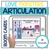 Valentine's Day Articulation Boom Cards™️ | Love Monsters