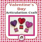 Valentine's Day Articulation Craft