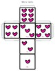 Valentine's Day Articulation Dice Game and Take Home Pack