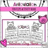 Valentine's Day Articulation Fun Flips - Activity Book