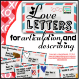 Valentine's Day Articulation and Describing   Mailing Love