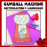 Articulation & Language Gumball Machine Craft