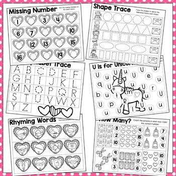 Valentine's Day BIG Preschool Pack