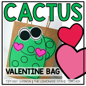 Valentine's Day Bag Cactus Style