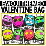 Valentine's Day Bag Craft Emoji Style
