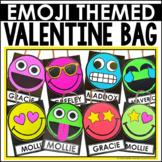 Valentine's Day Bag Box Craft Emoji Style