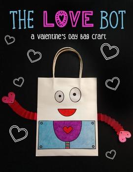 Valentine's Day Bag- The Love Bot