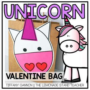 Valentine's Day Bag Unicorn Style