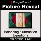 Valentine's Day: Balancing Subtraction Equations - Google