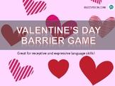 Valentine's Day Barrier Game