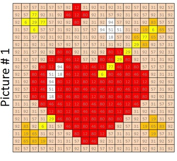 Valentine's Day Base Ten Mystery Math Puzzles