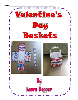 Valentine's Day Basket Craft