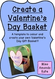 Valentine's Day Basket Template