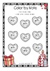 Valentine´s Day - Bass Clef Note Reading - Music Worksheet
