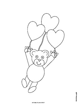 Valentine's Day Bears N Hearts!