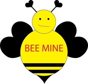Valentine's Day *  Bee Mine * FREEBIE