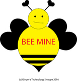 Valentine's Day *  Bee Mine * Craft