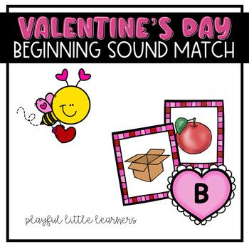Valentine's Day Beginning Sound Match