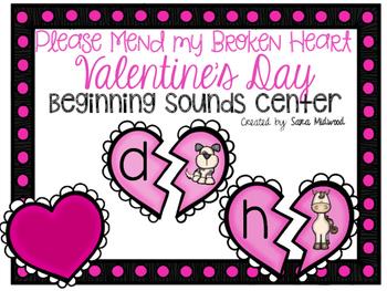 Valentine's Day Beginning Sounds Center