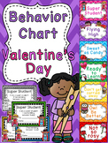 Valentine's Day Behavior Chart