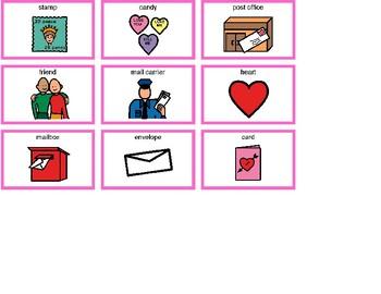 Valentine's Day Bingo! Single Board [speech therapy and autism]
