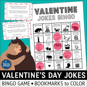 Valentine's Day Jokes Bingo