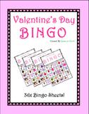 Valentine's Day Bingo! (36 BINGO BOARDS)
