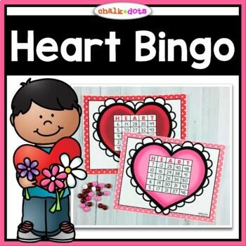 Valentine's Day Bingo (Numbers 1-50)