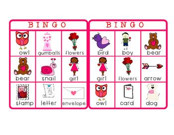 Valentine's Day - Bingo