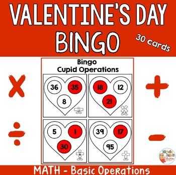Valentine's Day Bingo