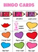 Valentine's Day Bingo Activity 30 boards - low prep fun!